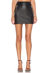 Muubaa Reynolds Mini Skirt Black