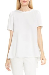 Vince Camuto Women's Lace Back High Low Blouse