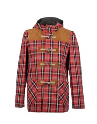 Novemb3r Coats And Jackets Mid Length Jackets Men Brick Red