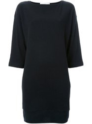 Astraet Shift Boat Neck Dress Black