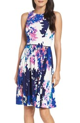 Maggy London Women's Stretch Fit And Flare Dress