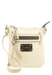 Lipsy Across Body Bag Neutral Off White