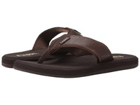 Flojos Cole Ii Brown Leather Men's Sandals