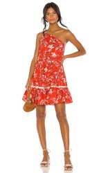 Free People All Mine Mini Dress In Red.