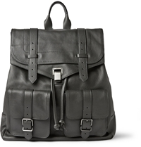 Proenza Schouler Ps1 Extra Large Leather Backpack Gray