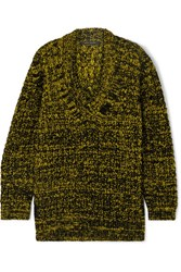 Marc Jacobs Oversized Wool Blend Sweater Yellow