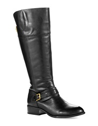 Lauren Ralph Lauren Maritza Wide Calf Riding Boots Black