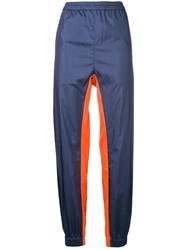 Ambush Logo Plaque Track Trousers Blue