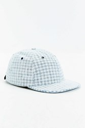 Publish X Uo Meyers Gingham Strapback Hat Blue Multi