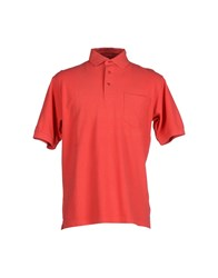 Faconnable Topwear Polo Shirts Men Red