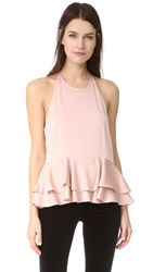 Milly Halter Top Blush