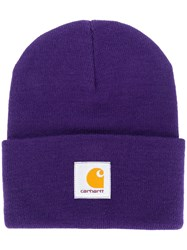 Carhartt Watch Beanie Purple