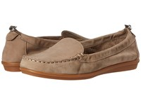 Hush Puppies Endless Wink Taupe Nubuck Women's Slip On Shoes