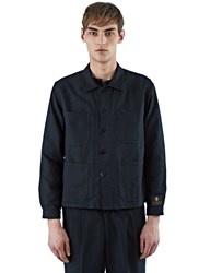 Emiliano Rinaldi Woven Workman Jacket Black