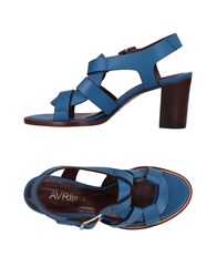 Avril Gau Sandals Blue