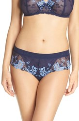 Simone Perele Women's 'Wish' Embroidered Boyshorts