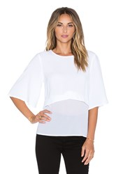 Minty Meets Munt Take Action Top White