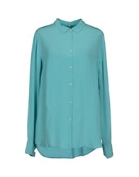 Levi's Made And Crafted Shirts Turquoise