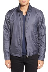 Pal Zileri Insulated Bomber Jacket Gray