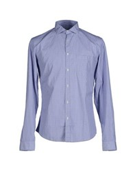 Robert Friedman Shirts Shirts Men Azure