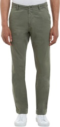 Barneys New York Solid Chinos Green Size 30