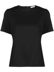 The Row Round Neck Top Black