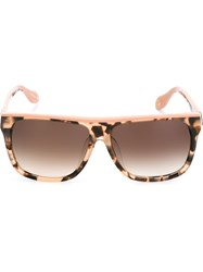 Vivienne Westwood Anglomania Square Frame Sunglasses Pink And Purple