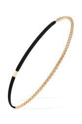 Forever 21 Chain Headwrap Gold