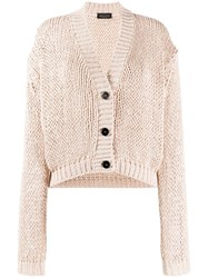 Roberto Collina Chunky Knit Buttoned Cardigan 60