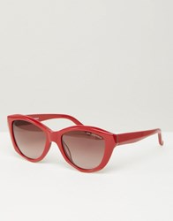 Karl Lagerfeld Sunglasses Red