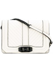 Rebecca Minkoff Quilted Crossbody Bag White