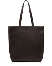 Jaeger Icon Leather Tote Black
