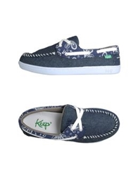 Keep Slip On Sneakers Blue