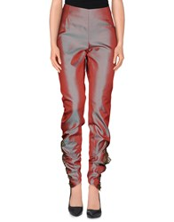 Alex Vidal Trousers Casual Trousers Women Red