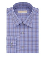 Michael Michael Kors Plaid Dress Shirt Purple