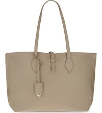 Whistles Regent Leather Tote Nude