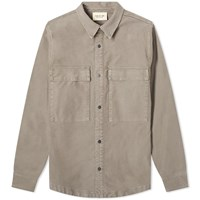 Fear Of God Vintage Cord Shirt Jacket Grey