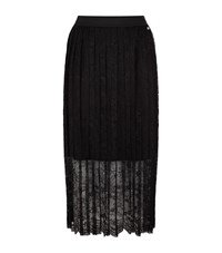 Escada Sport Lace Pleated Skirt Female White