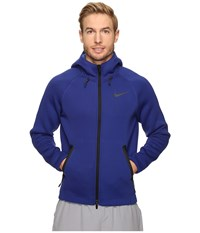 Nike Therma Sphere Max Training Hoodie Deep Royal Blue Game Royal Black Men's Sweatshirt