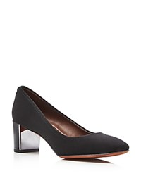 Donald J Pliner Corin Mid Heel Pumps Black