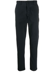 Transit Slim Fit Trousers Blue