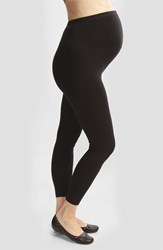 Women's Japanese Weekend Over The Belly Maternity Leggings