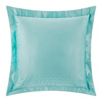 Pratesi Chain Embroidery Pillowcase Set Of 2 Blue