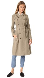 Bb Dakota Jack By Lexia Trench Coat Dark Taupe