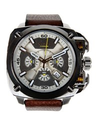 Diesel Timepieces Wrist Watches Men Silver
