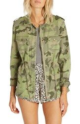 Billabong Women's Can't See Me Camo Anorak