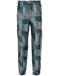 Missoni Contrast Panel Zigzag Track Pants 60