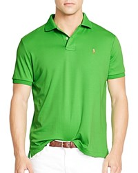 Polo Ralph Lauren Pima Soft Touch Slim Fit Polo Neon Green