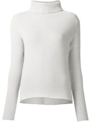 Dusan Turtle Neck Jumper Nude And Neutrals
