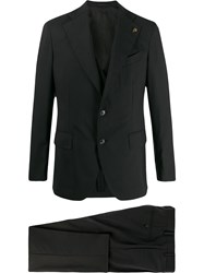 Gabriele Pasini Single Breasted Blazer Black